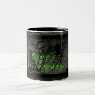 Happy Halloween Two-Tone Coffee Mug