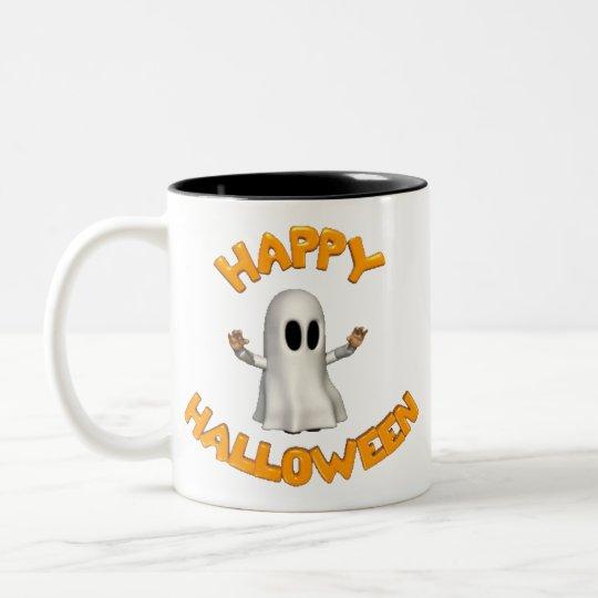 Happy Halloween - Two-Tone Coffee Mug