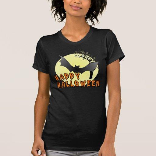 Happy Halloween Vampire Bat T-shirt