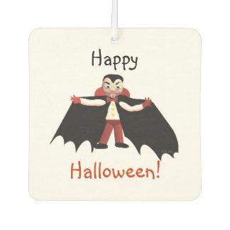 Happy Halloween Vampire Car Air Freshener