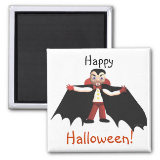 Happy Halloween Vampire Magnet