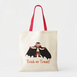 Happy Halloween Vampire Tote Bag