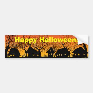 Happy Halloween! village_sunset Bumper Sticker