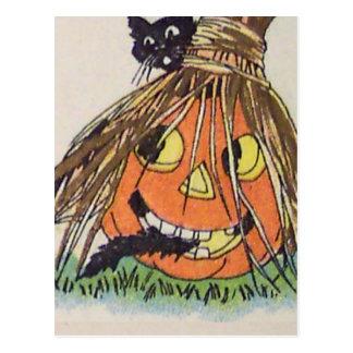 Happy Halloween(Vintage Halloween Card) Postcard