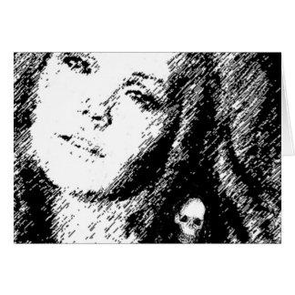 Happy Halloween w Valpyra & Friend Card by VALPYRA
