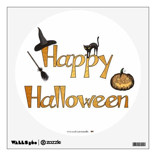 Happy Halloween Wall Sticker