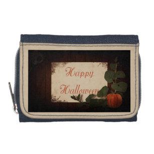 happy halloween wallet