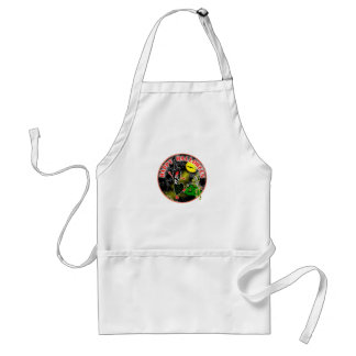 Happy Halloween Whimsical Design Adult Apron