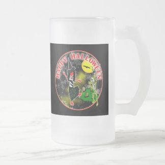 Happy Halloween Whimsical Design Coffee Mug