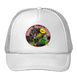 Happy Halloween Whimsical Design Trucker Hat
