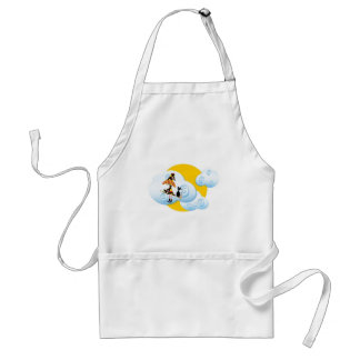 Happy Halloween Witch Adult Apron
