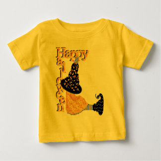 Happy Halloween Witch Baby T-Shirt