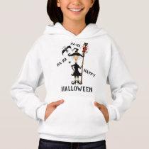 Happy Halloween Witch Hoodie