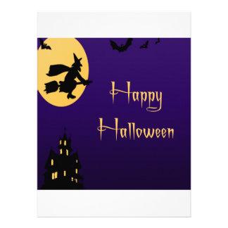 Happy Halloween Witch Invites