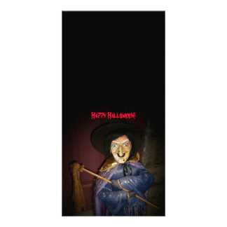 Happy Halloween!-Witch Photo Card