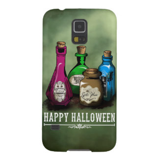 Happy Halloween! Witch Potion Bottles Case For Galaxy S5