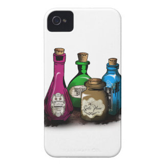 Happy Halloween! Witch Potion Bottles iPhone 4 Cover