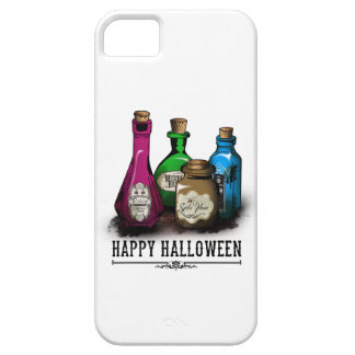 Happy Halloween! Witch Potion Bottles iPhone SE/5/5s Case