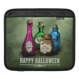 Happy Halloween! Witch Potion Bottles Sleeves For iPads