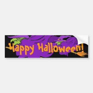Happy Halloween!, Witches Bumper Sticker