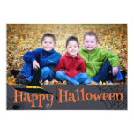 Happy Halloween Witches Hat photo card Personalized Invite