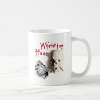happy halloween witching hour breakout skeleton coffee mugs