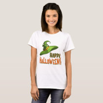 Happy Halloween Witch's Hat T-Shirt