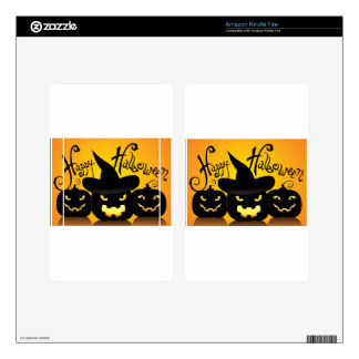 Happy Halloween Witchy Poo Kindle Fire Decal