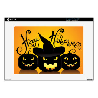 """Happy Halloween Witchy Poo Skins For 15"""" Laptops"""