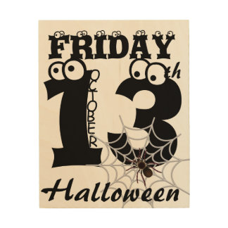 happy Halloween Wood Wall Decor