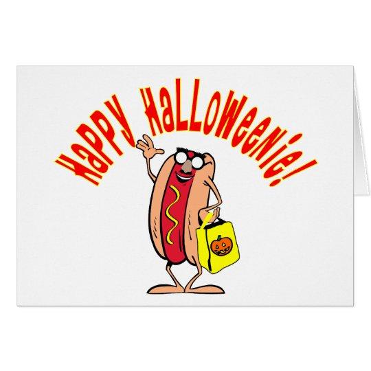 HAPPY HALLOWEENIE CARD