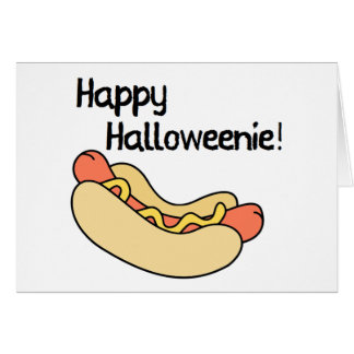 Happy Halloweenie! Card