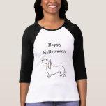 Happy Halloweenie Halloween dachshund T Shirt