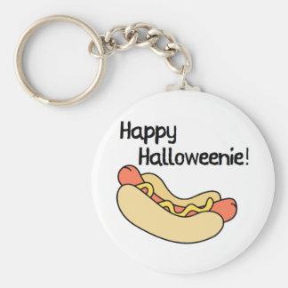 Happy Halloweenie! Keychain
