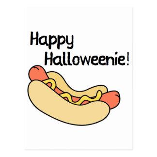 Happy Halloweenie! Postcard