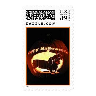 Happy Halloweenie Stamp