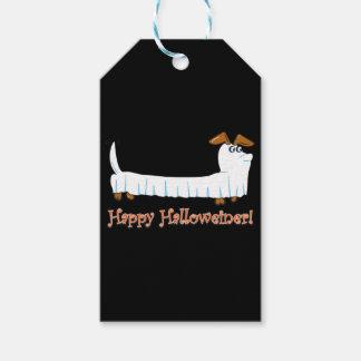 Happy Halloweiner Dachshund Gift Tags