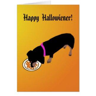 Happy Hallowiener Card