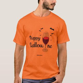 Happy Hallowine -  - .png T-Shirt