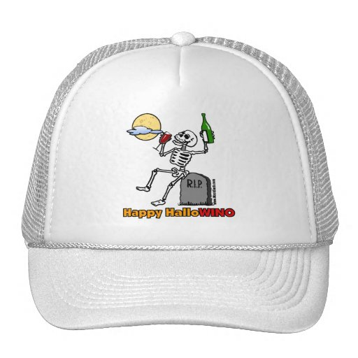 Happy HalloWINO Trucker Hat