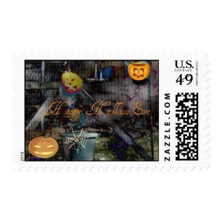 Happy Hallows Eve Postage