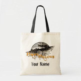 Happy Hallows Trick or Treat bags! Budget Tote Bag