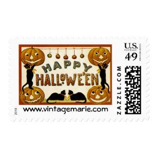 Happy Halowe'en Stamp