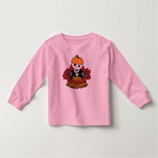 Happy Haloween Skeleton Toddler T-shirt