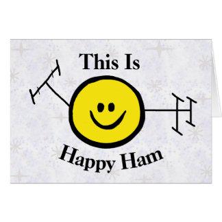 Happy Ham Funny Birthday Card