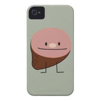 Happy Ham Meat Food iPhone 4 Case-Mate Case