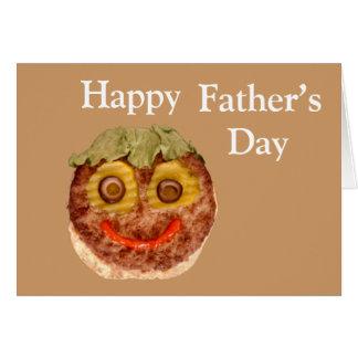 Happy Hamburger Card