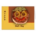 Happy Hamburger Greeting Card