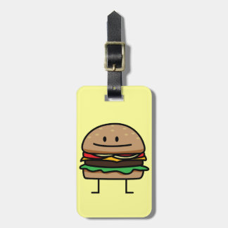 Happy Hamburger Tags For Bags