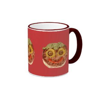 Happy Hamburger Ringer Coffee Mug